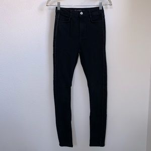 Zara TRF | Denimwear High Waisted Skinny Jeans